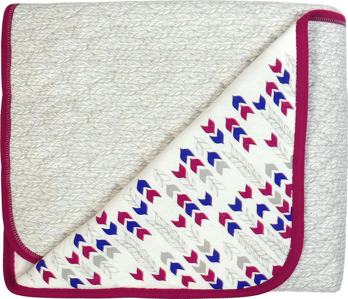 """Одеяло детское Мамуляндия """"Ассорти"""", цвет: разноцветный, 85 х 100 см"""