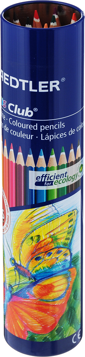 Набор цветных карандашей Noris Club 144 NMD 12 цветов  4007817143070 Staedtler, 144NMD12 2
