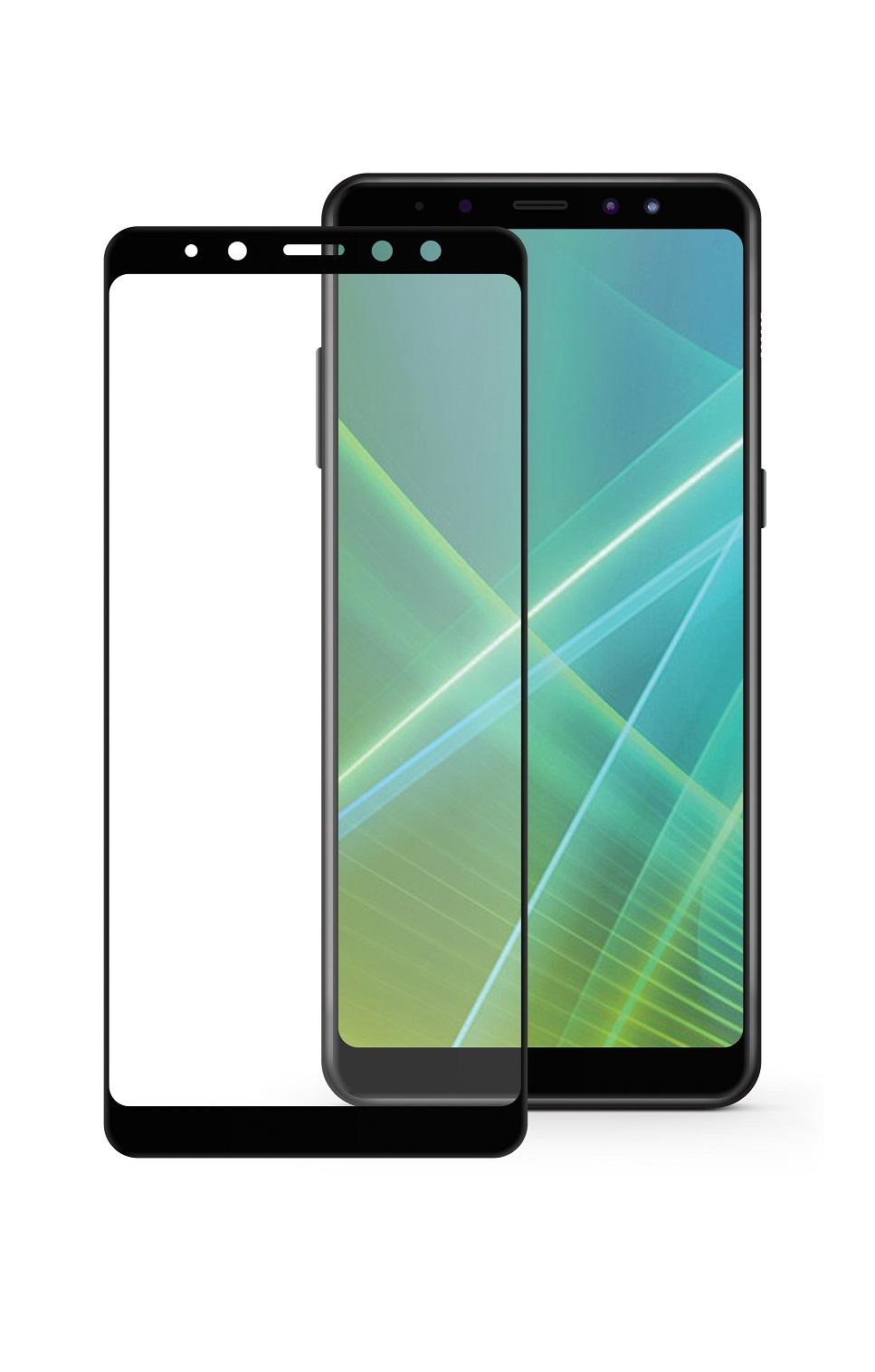 Защитное стекло Mobius Samsung A8 2018, черный защитное стекло mobius samsung note 8 черный