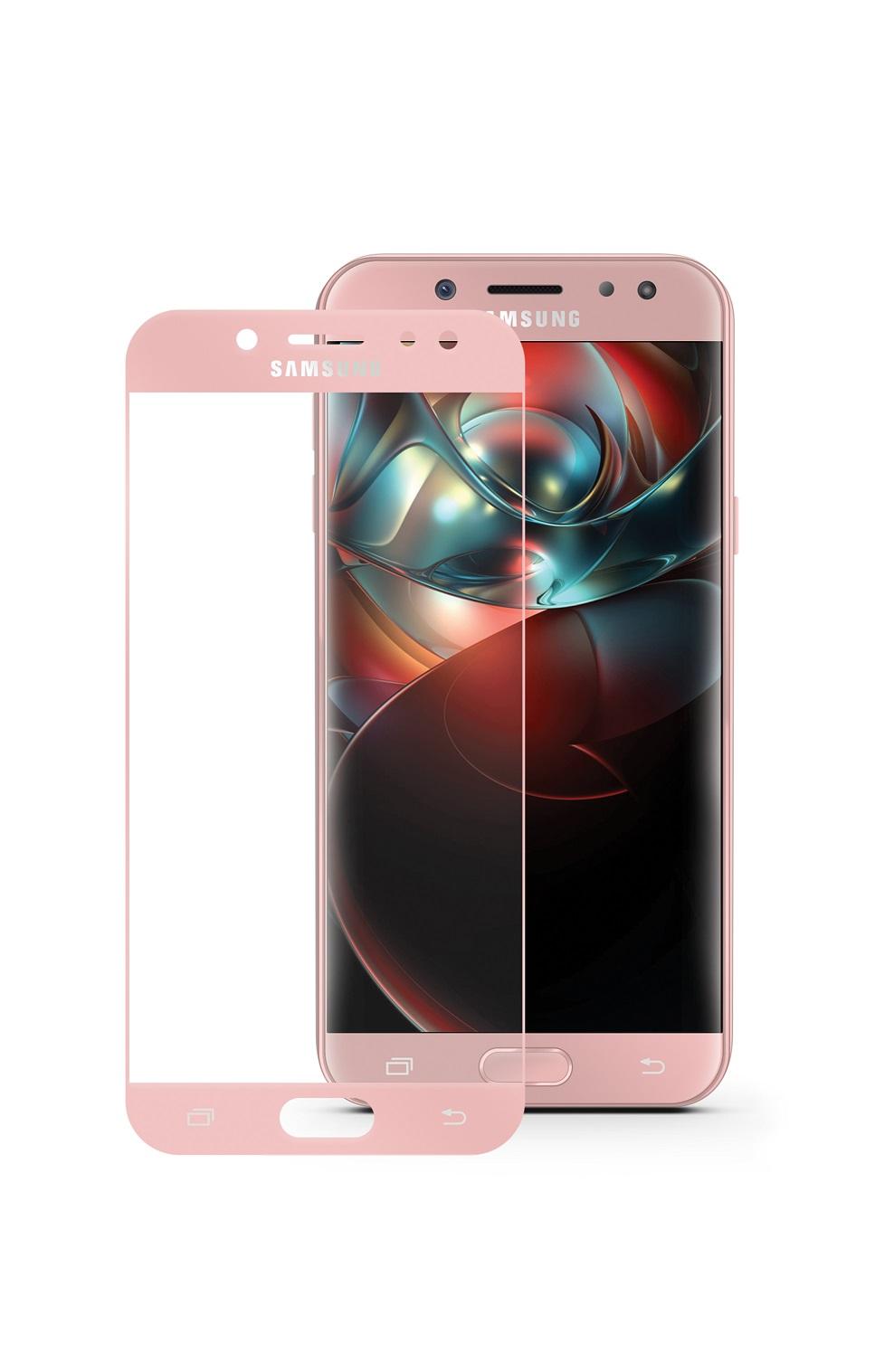Защитное стекло Mobius Samsung J5 2017, розовый защитное стекло mobius samsung j5 2017 голубой
