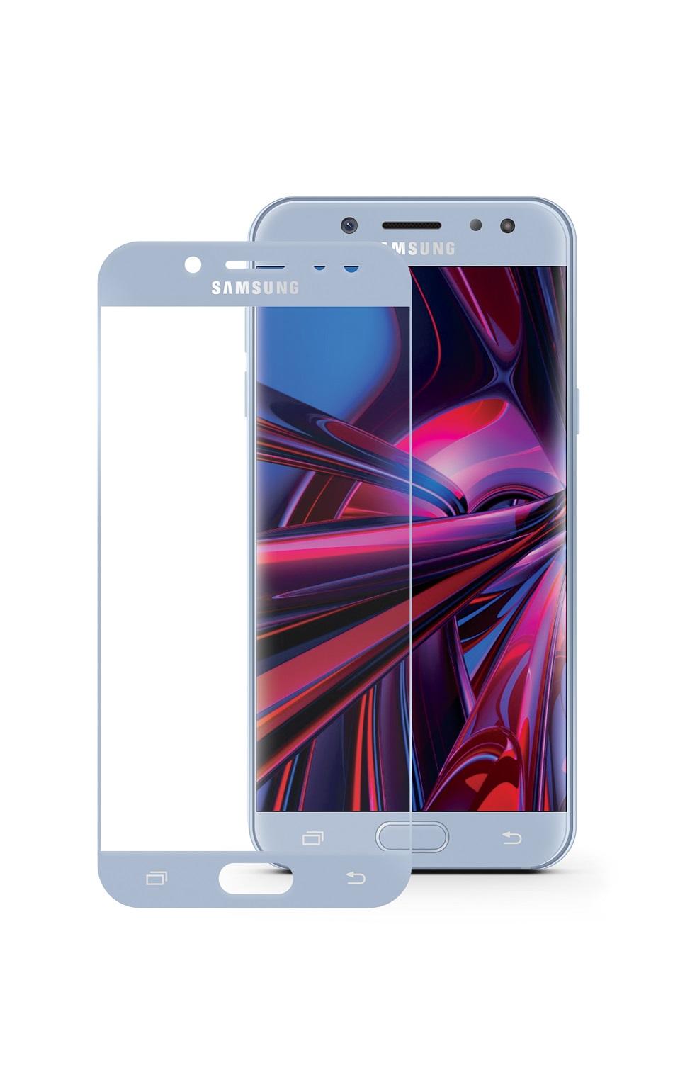 Защитное стекло Mobius Samsung J7 2017, голубой аксессуар защитное стекло для samsung galaxy j7 2017 mobius 3d full cover black