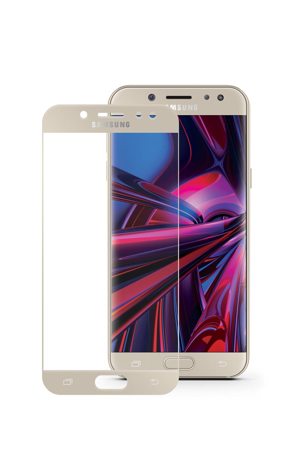 Защитное стекло Mobius Samsung J7 2017, золотой аксессуар защитное стекло для samsung galaxy j7 2017 mobius 3d full cover black