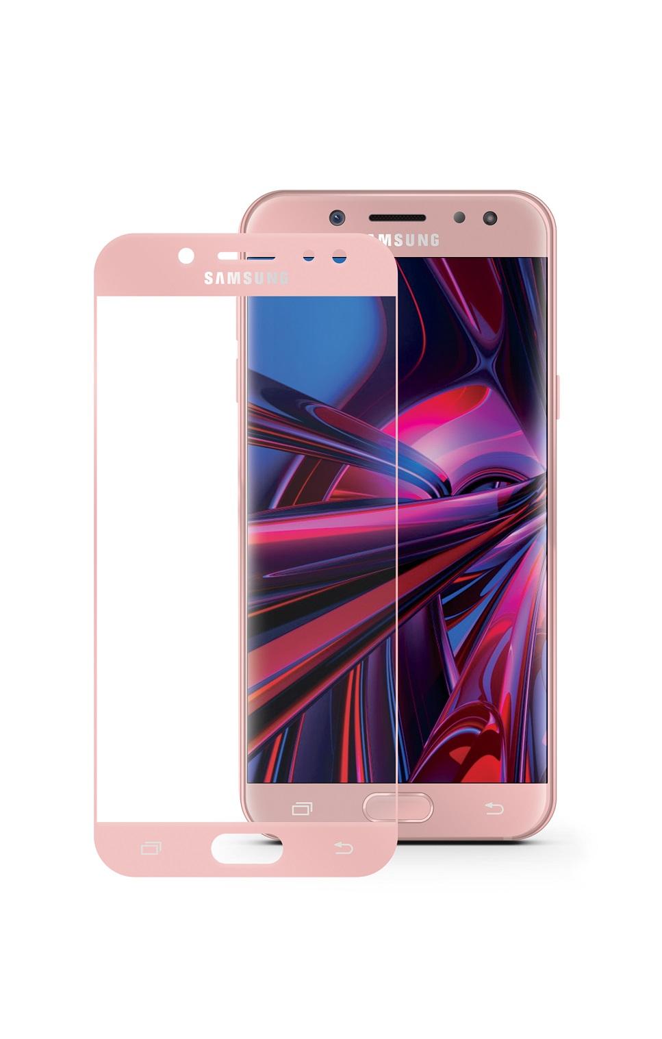 Защитное стекло Mobius Samsung J7 2017, розовый аксессуар защитное стекло для samsung galaxy j7 2017 mobius 3d full cover black