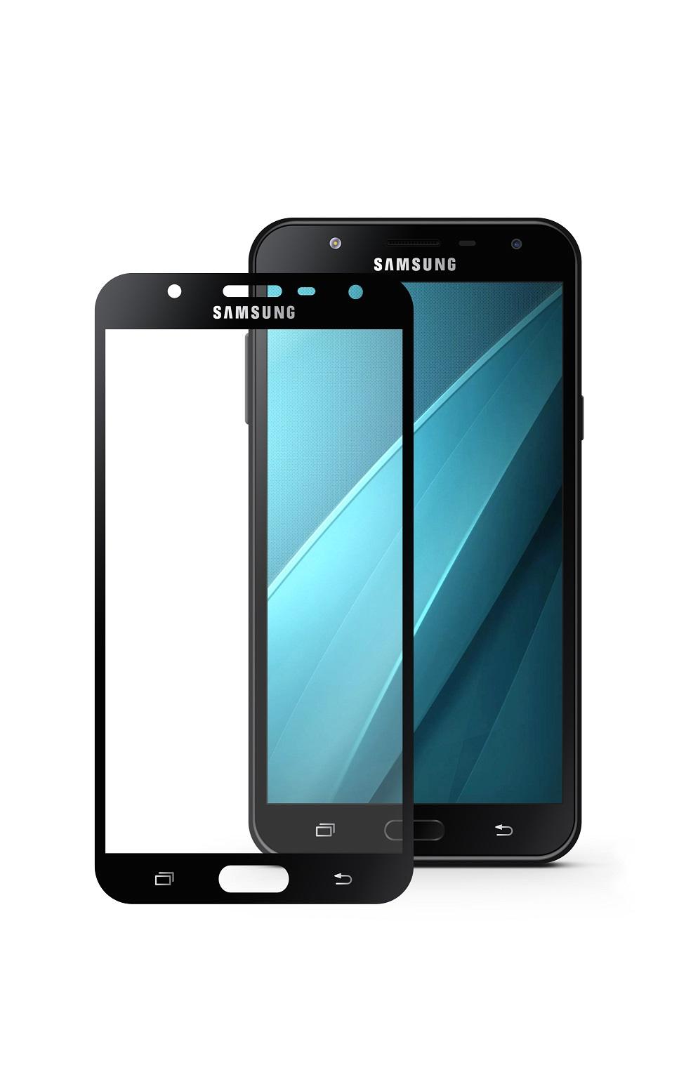 Защитное стекло Mobius Samsung J7 Neo, черный аксессуар защитное стекло для samsung galaxy j7 2017 mobius 3d full cover black