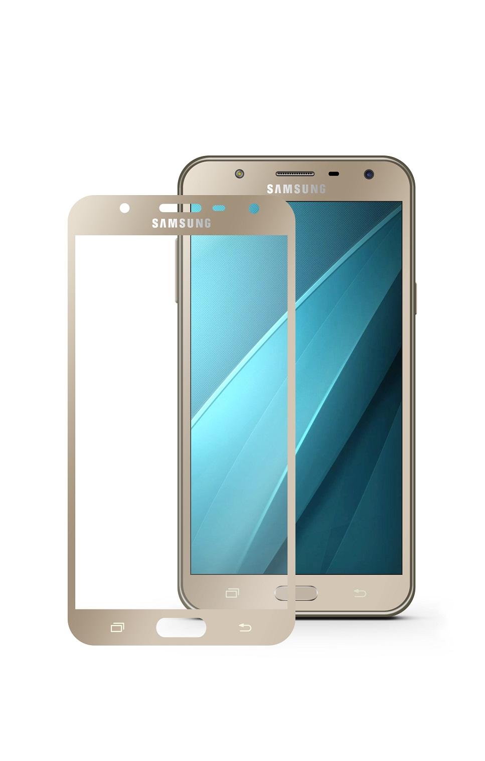 Защитное стекло Mobius Samsung J7 Neo, золотой аксессуар защитное стекло для samsung galaxy j7 2017 mobius 3d full cover black