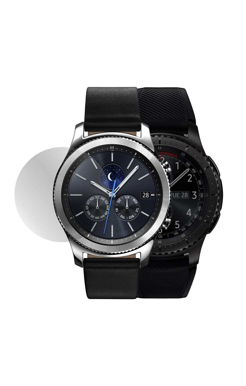 все цены на Защитное стекло Mobius Samsung Gear S3 Classic/Frontier, прозрачный онлайн