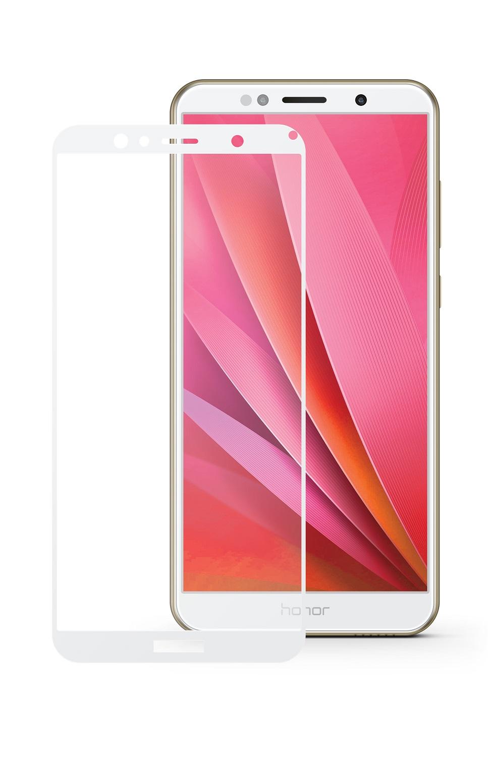 Защитное стекло Mobius Huawei Honor 7A/Y5 2018, белый защитное стекло mobius huawei honor 7a pro y6 2018 белый