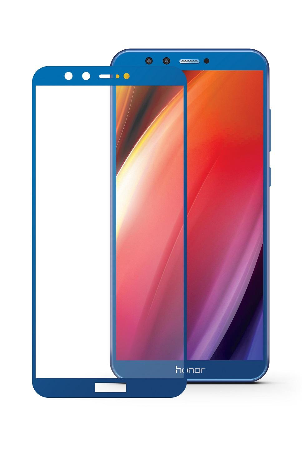 Защитное стекло Mobius для Huawei Honor 9 Lite 3D Full Cover (Blue)