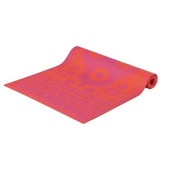 Коврик для йоги и фитнеса Lite Weights, цвет: оранжевый, фиолетовый, 183 х 61 х 0,3 см. 5430LW коврик для йоги onerun цвет фиолетовый 183 х 61 х 0 4 см