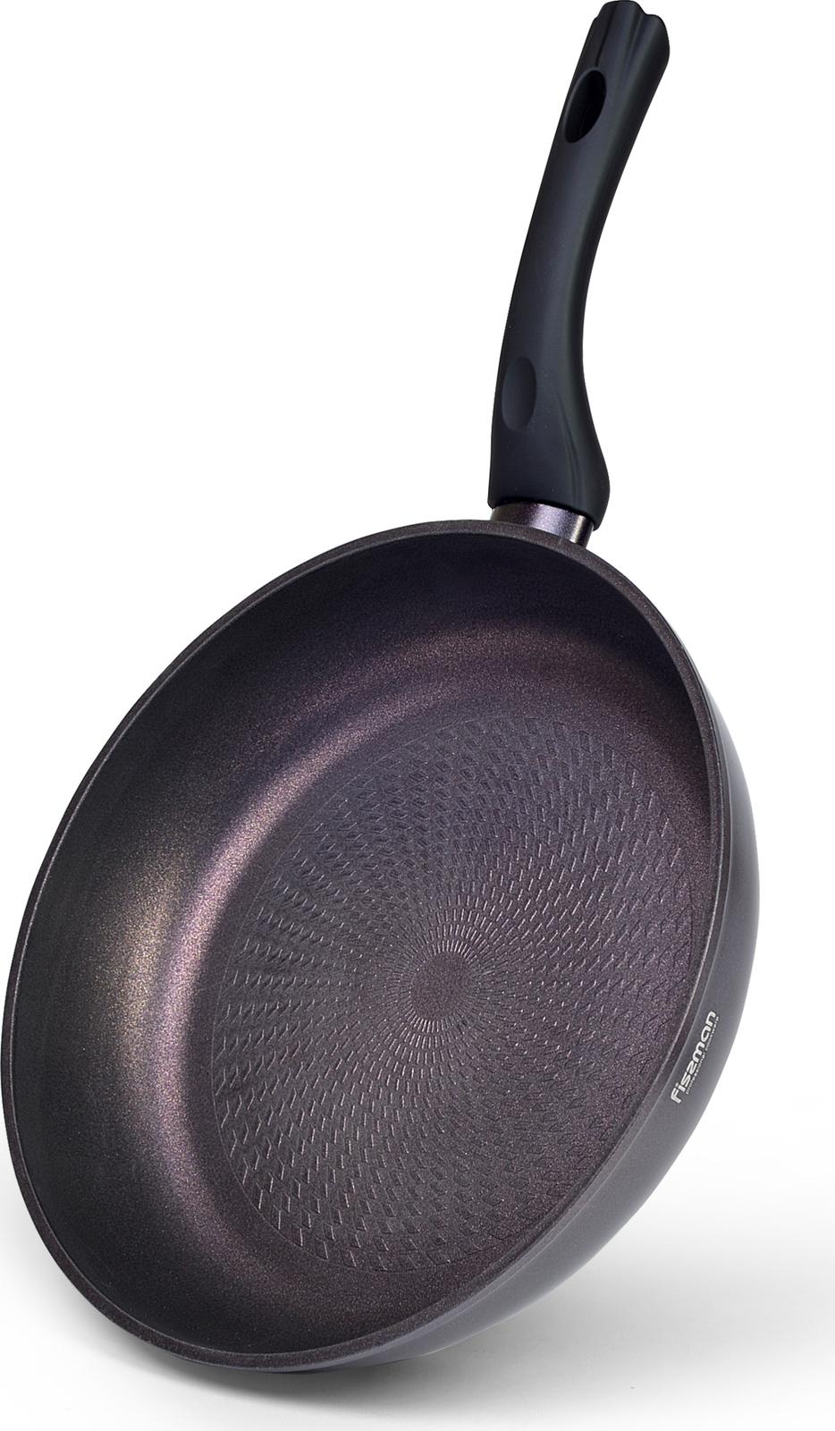 Сковорода Fissman Choco Jasper, с антипригарным покрытием, диаметр 24 см сковорода fissman prestige с антипригарным покрытием диаметр 26 см
