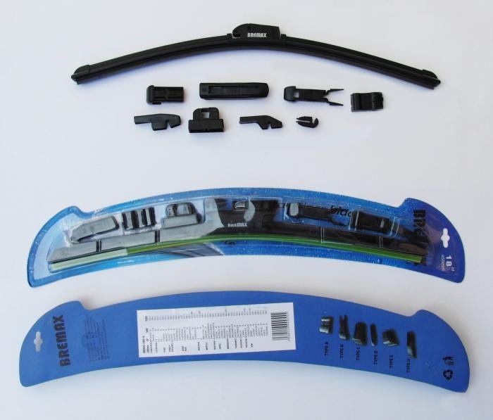 Бескаркасная щетка стеклоочистителя Bremax, длина 60 см щетки стеклоочистителя 94771074