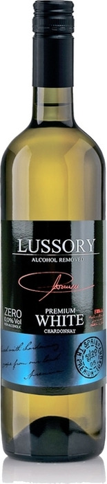 Вино безалкогольное белое полусухое Lussory Premium Chardonnay, 750 мл rimuss secco шампанское полусухое безалкогольное 0 75 л