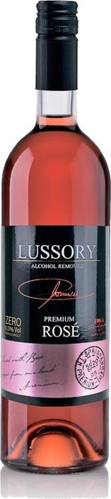 Вино безалкогольное розовое полусухое Lussory Premium Rose, 750 мл