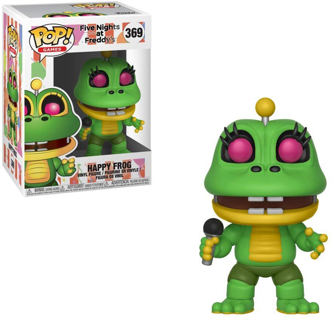Фигурка Funko POP! Vinyl: Games: FNAF Pizza Sim: Happy Frog 32062 фигурка funko pop vinyl games god of war draugr 21682