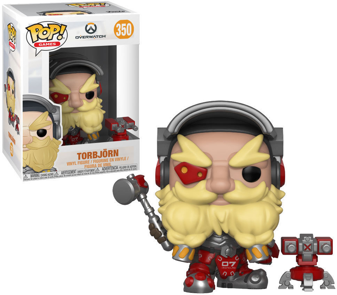 Фигурка Funko POP! Vinyl: Games: Overwatch S4: Torbjorn 32278