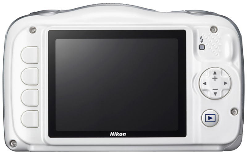 Компактная фотокамера Nikon CoolPix W100, цвет:  белый + рюкзак Nikon