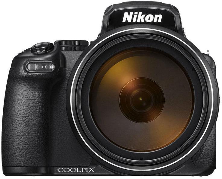 Компактная фотокамера Nikon CoolPix P1000, цвет: черный зеркальная фотокамера nikon d5600 цвет черный