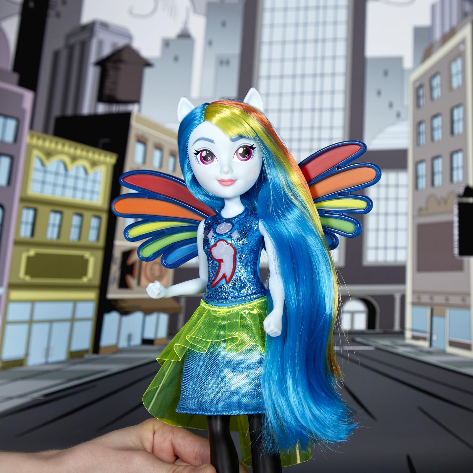 кукла пони радуга мире
