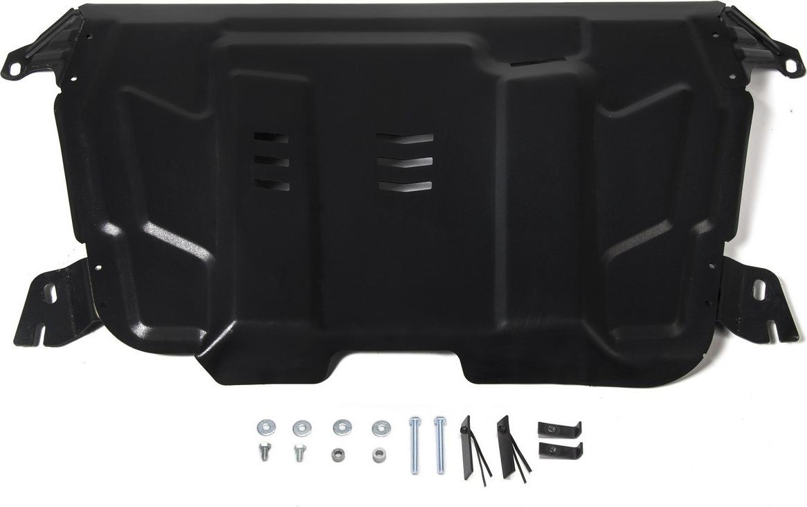 Защита картера и КПП Rival для Lexus ES 2012-2018 2018-/Lexus RX 270/350/200t/450h 2008-2015 2015-/Lifan Murman МКПП 2017-/Toyota Camry XV40/50/70 2006-2018 2018-/Highlander II, III 2010-2017 2017-/Venza I 2013-2016, сталь 2мм, с крепежом. 111.9519.1 комплект защита картера и крепеж nlz для toyota highlander camry lexus es 350 rx 270 rx 350 2010 2013