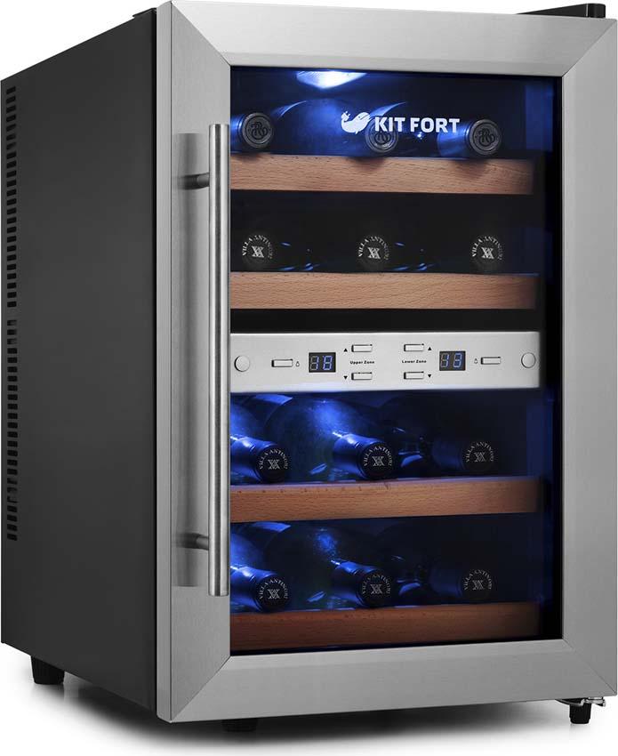 Винный шкаф Kitfort, КТ-2404