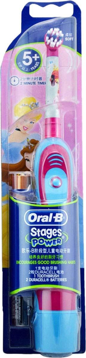 Щетка зубная детская Braun Oral-B Stages Power DB4.510K Ариэль, электрическая электрическая зубная щетка braun oral b vitality sensitive d12 513