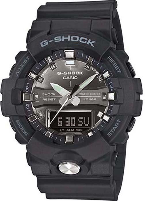 Часы наручные мужские Casio G-Shock, цвет: черный, серый. GA-810MMA-1AER все цены