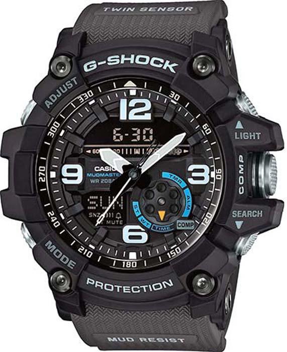 Часы наручные мужские Casio G-Shock, цвет: черный. GG-1000-1A8ER все цены