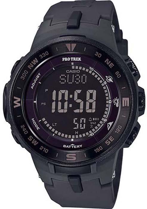 цена Часы наручные мужские Casio Pro Trek, цвет: черный. PRG-330-1AER онлайн в 2017 году