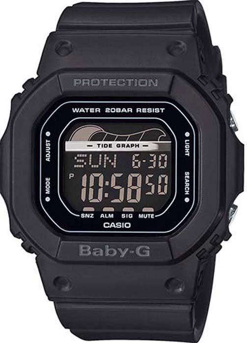 Часы наручные женские Casio Baby-G, цвет: черный. BLX-560-1E цена