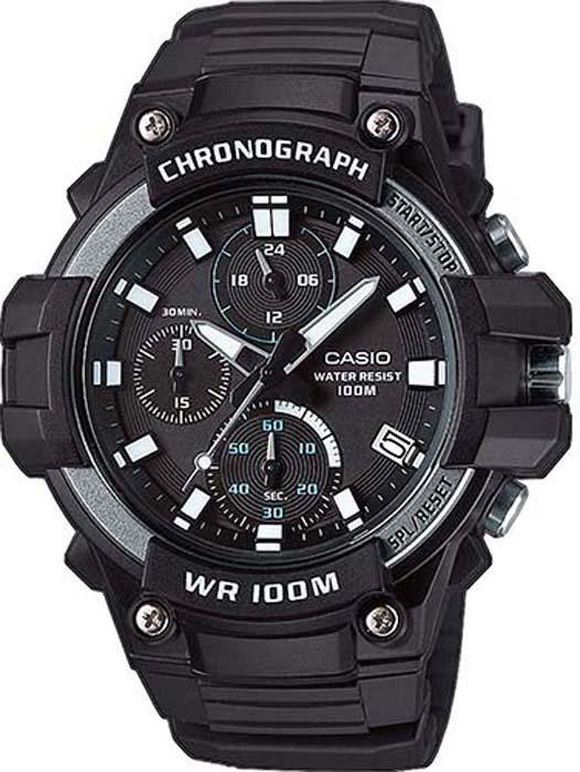Часы наручные мужские Casio Collection, цвет: черный, серый. MCW-110H-1A все цены