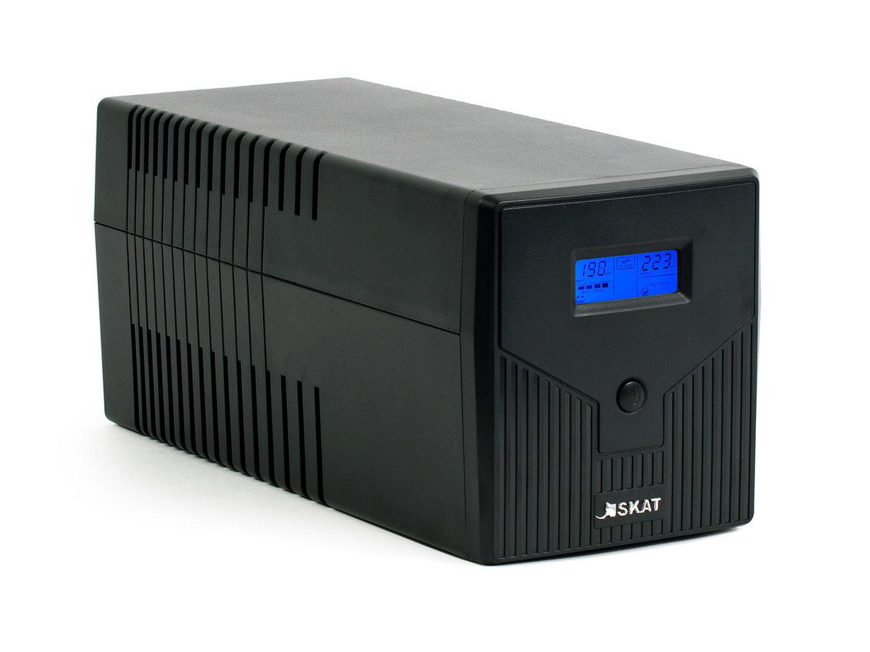 ИБП SKAT SKAT-UPS 1000/600, черный