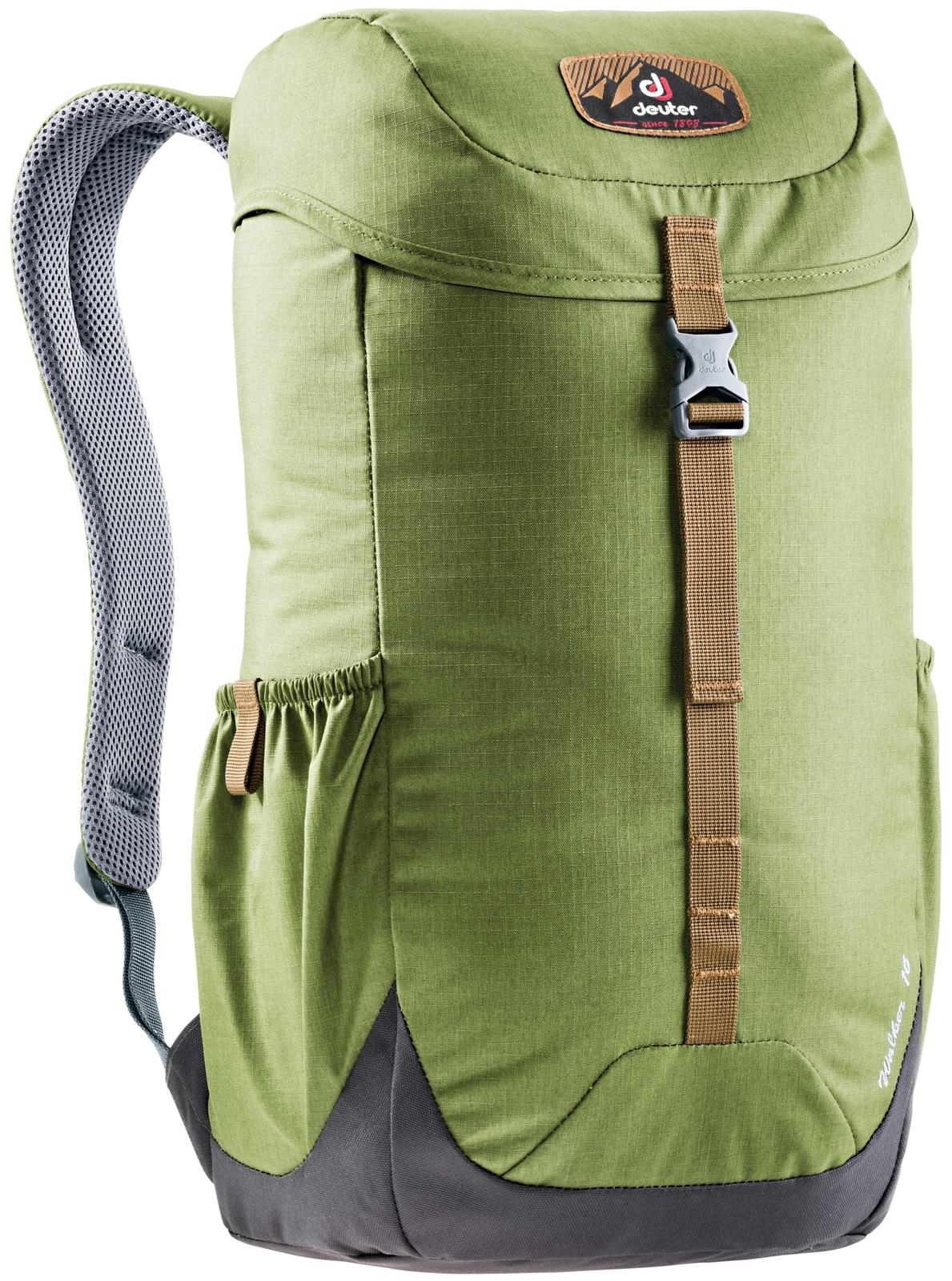 Рюкзак Deuter Walker 16, цвет: зеленый, оливковый deuter рюкзак stepout 12 без наполнения сине зеленый