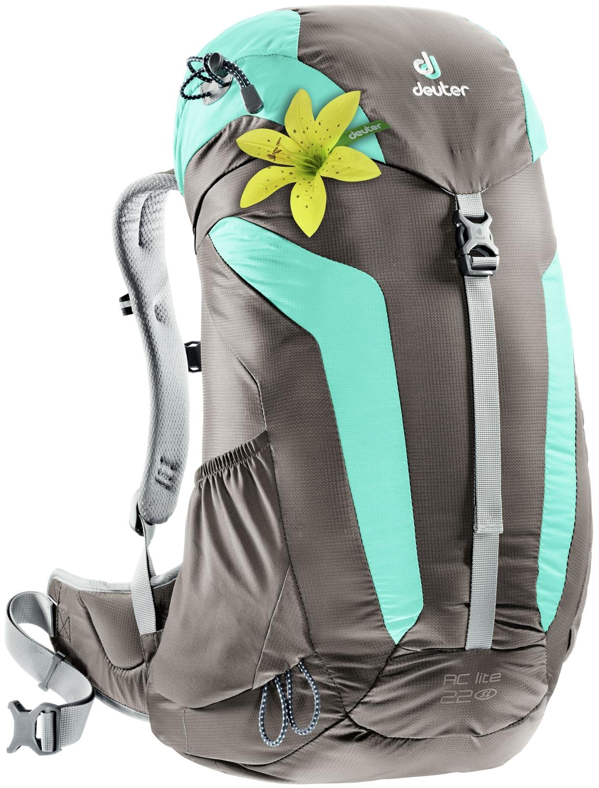 Рюкзак Deuter AC Lite 22 SL, цвет: серый,голубой городской рюкзак deuter futura 20 sl 20 л фиолетовый розовый 34194 3503