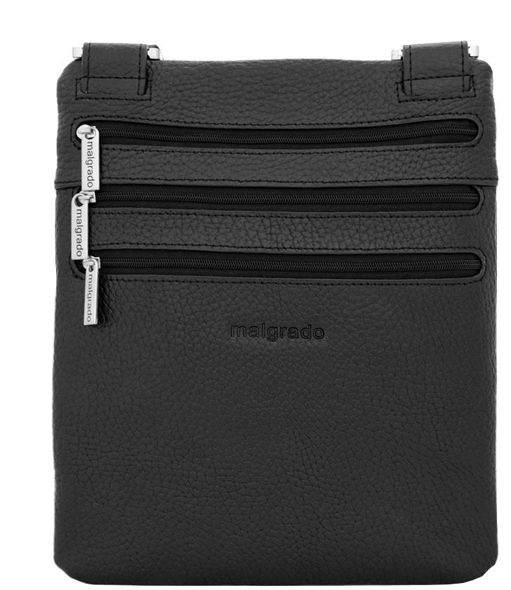 купить Сумка-планшет мужская Malgrado, цвет: черный. BR10-1181A329 по цене 4118 рублей