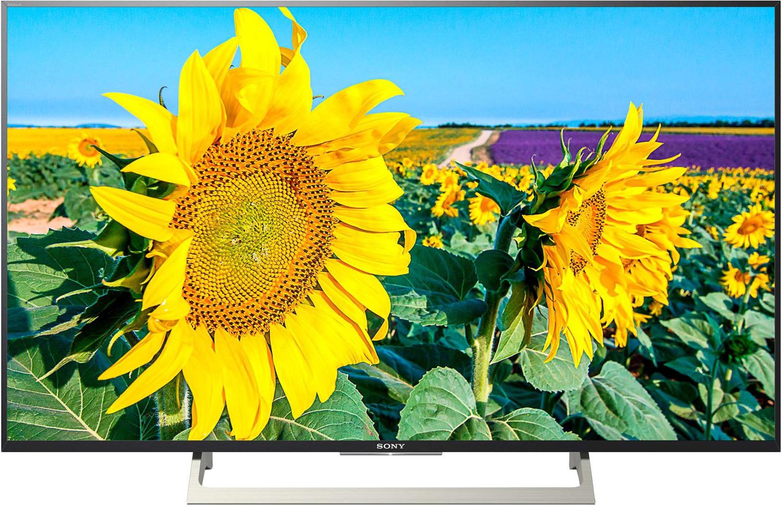 Телевизор Sony KD-49XF8096BR 49, черный телевизор sony kd49xf9005br2 черный