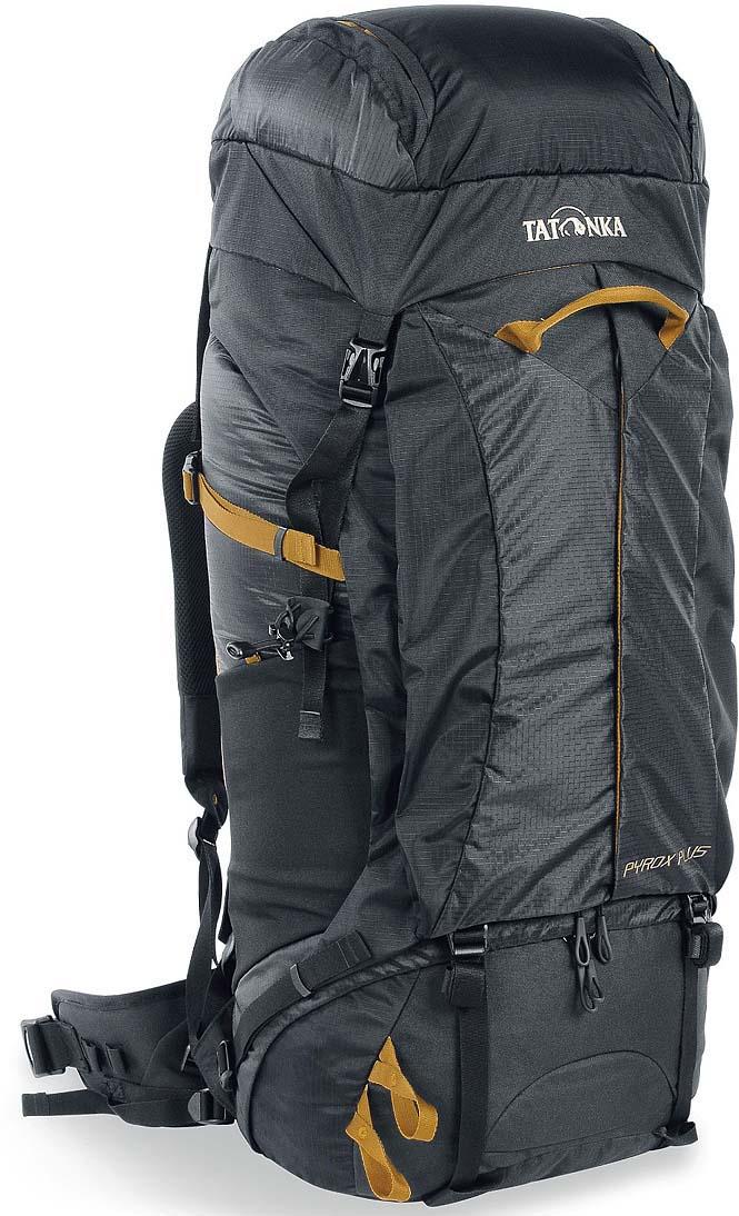 Рюкзак туристический Tatonka Pyrox Plus, цвет: черный, 50+10 л цена и фото
