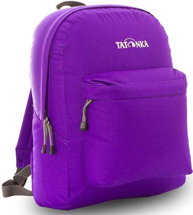 купить Рюкзак городской Tatonka Hunch Pack, цвет: фиолетовый, 22 л по цене 970 рублей