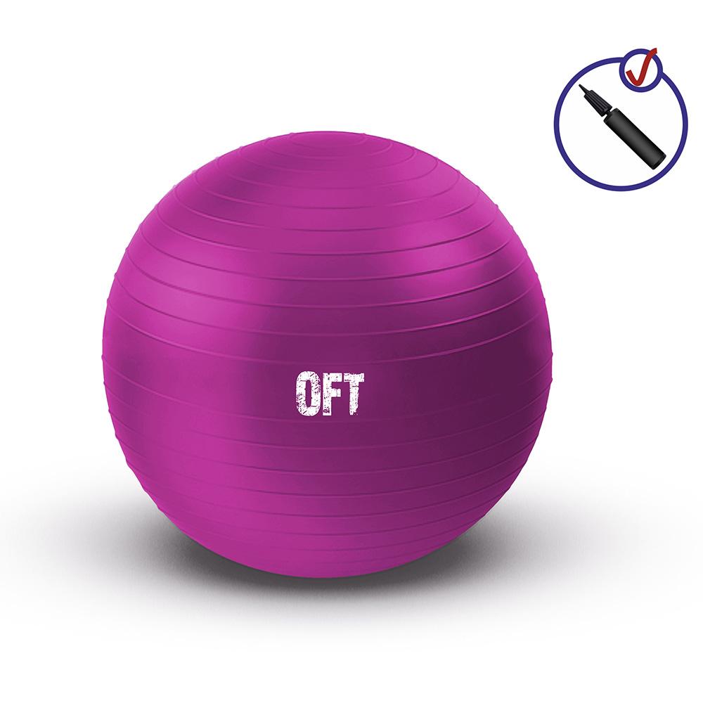 Гимнастический мяч 55 см фуксия deweyke массаж мяч фасция мяч глубокие мышцы расслабляющий мяч клуб иглоукалывание массаж фитнес мяч зеленый