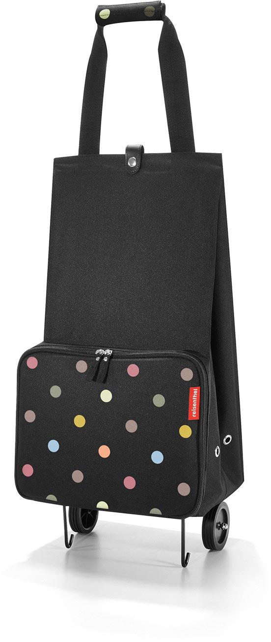 сумка-тележка reisenthel foldabletrolley dots