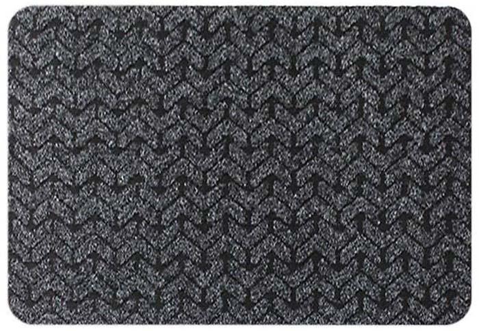 цена на Коврик придверный Beaulieu King Size, цвет: черный, 40 х 60 см