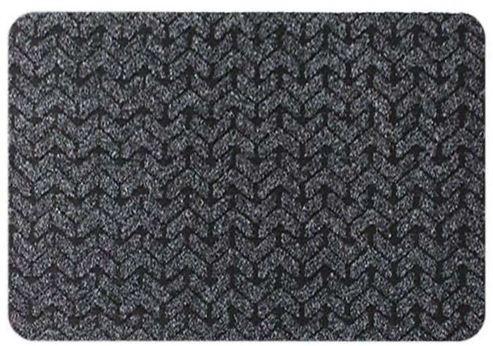 цена на Коврик придверный Beaulieu King Size, цвет: черный, 50 х 80 см