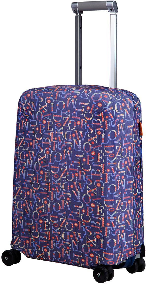 Чехол для чемодана Routemark Митра, цвет: черный чехол для чемодана routemark ромбик в красном цвет красный