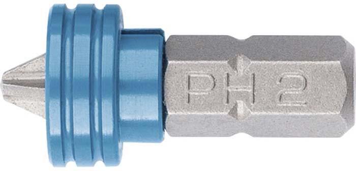 Бита Gross PH 2x25 мм для ГКЛ, с ограничителем и магнитом, S2 бита gross с торцевой головкой магнитная nut driver 13 мм s2