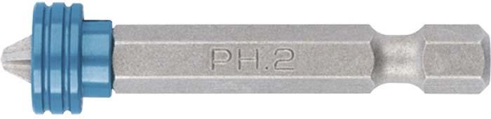 Бита Gross PH 2x50 мм для ГКЛ, с ограничителем и магнитом, S2 бита gross с торцевой головкой магнитная nut driver 13 мм s2