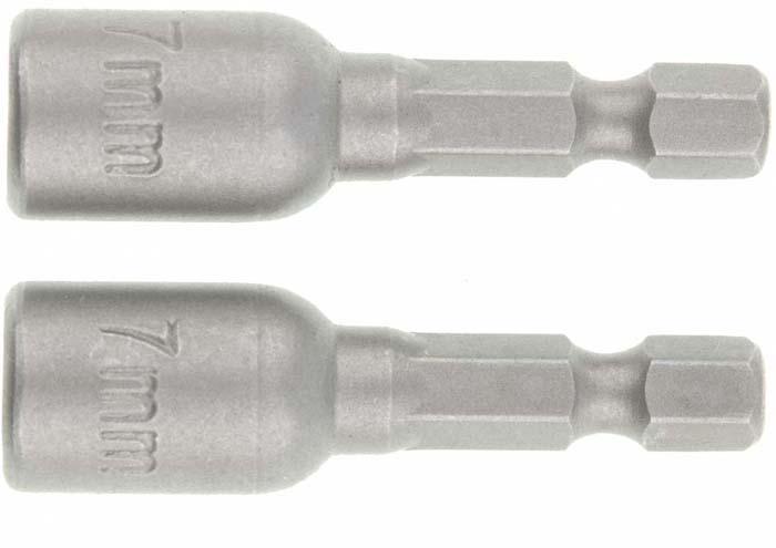 Биты с торцевыми головками Matrix, 7 - 45 мм, 2 шт набор с торцевыми головками force f 4246s 9