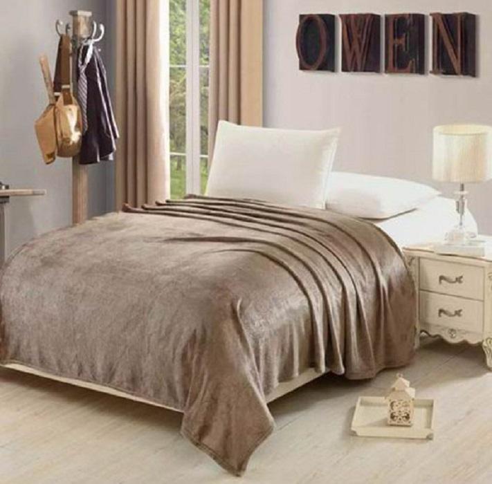 Плед Hongda Textile Узоры, цвет: серый . Размеры 150х200 см цена
