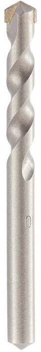 Сверло Барс, по бетону, цилиндрический хвостовик, 10 х 110 мм70530Увеличенная скорость сверления, повышенная прочность и высокая износостойкость достигаются за счет состава, твердости и формы твердосплавного элемента. Пластина фиксируется особо прочным припоем, рассчитанным на высокие рабочие температуры и значительные ударные нагрузки. U–образная форма спирали позволяет эффективно отводить продукты сверления, способствуя меньшему нагреву, что увеличивает производительность и срок службы сверла.