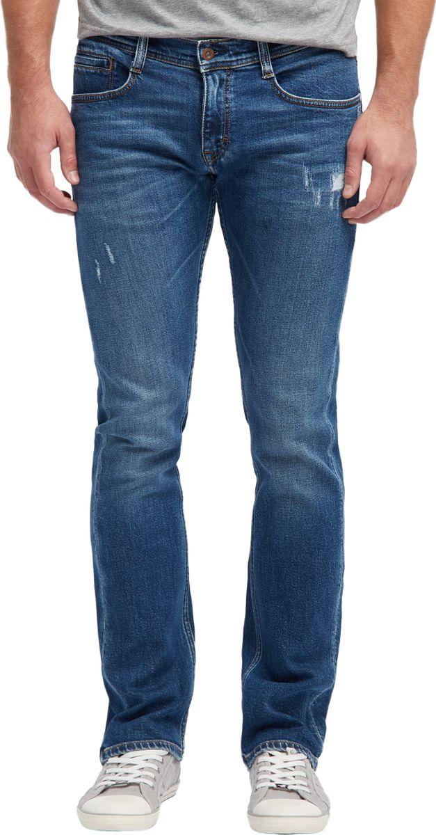 Джинсы мужские Mustang Oregon Straight, цвет: синий. 1006657-5000-424. Размер 33-34 (48/50-34)1006657-5000-424