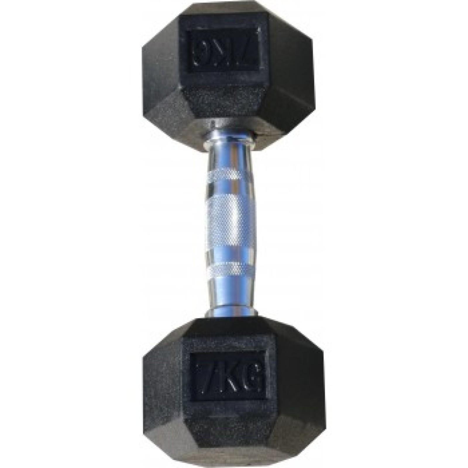 Гантель Body Solid гексагональная 7 кг