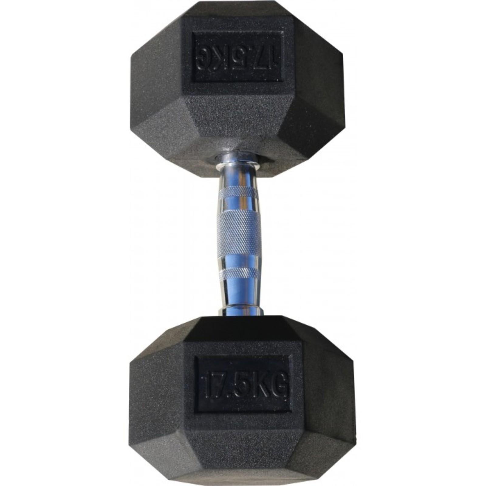Гантель Body Solid гексагональная 17.5 кг